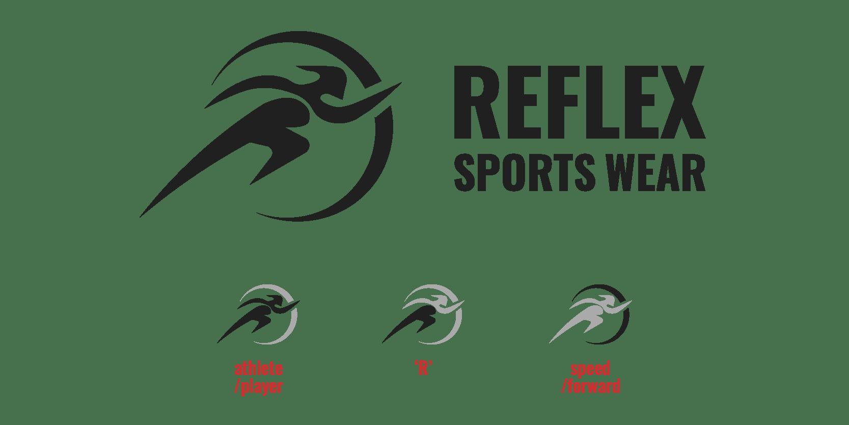 Reflex logo design by XAXs