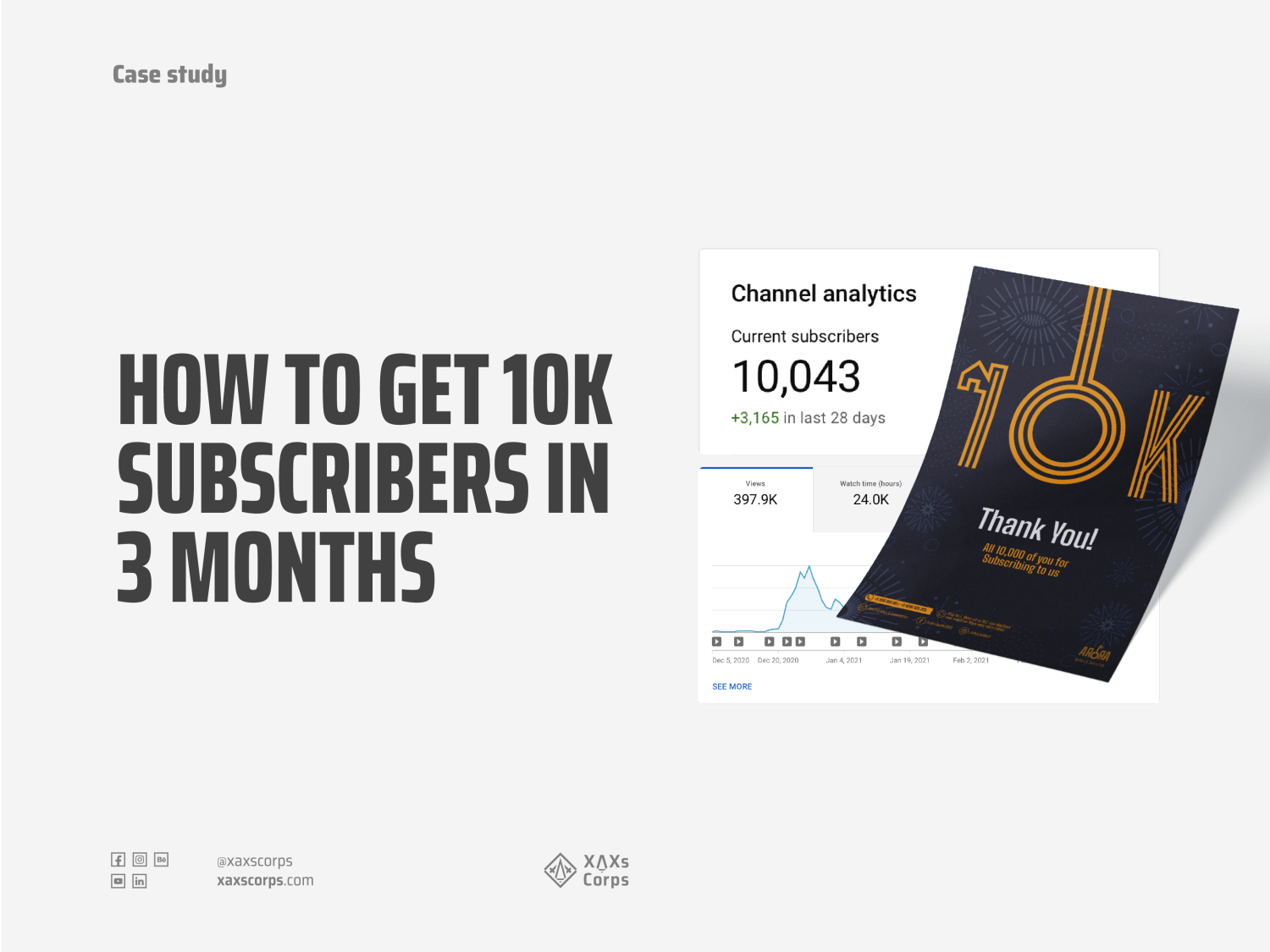How to get 10k Subs handbook by XAXs