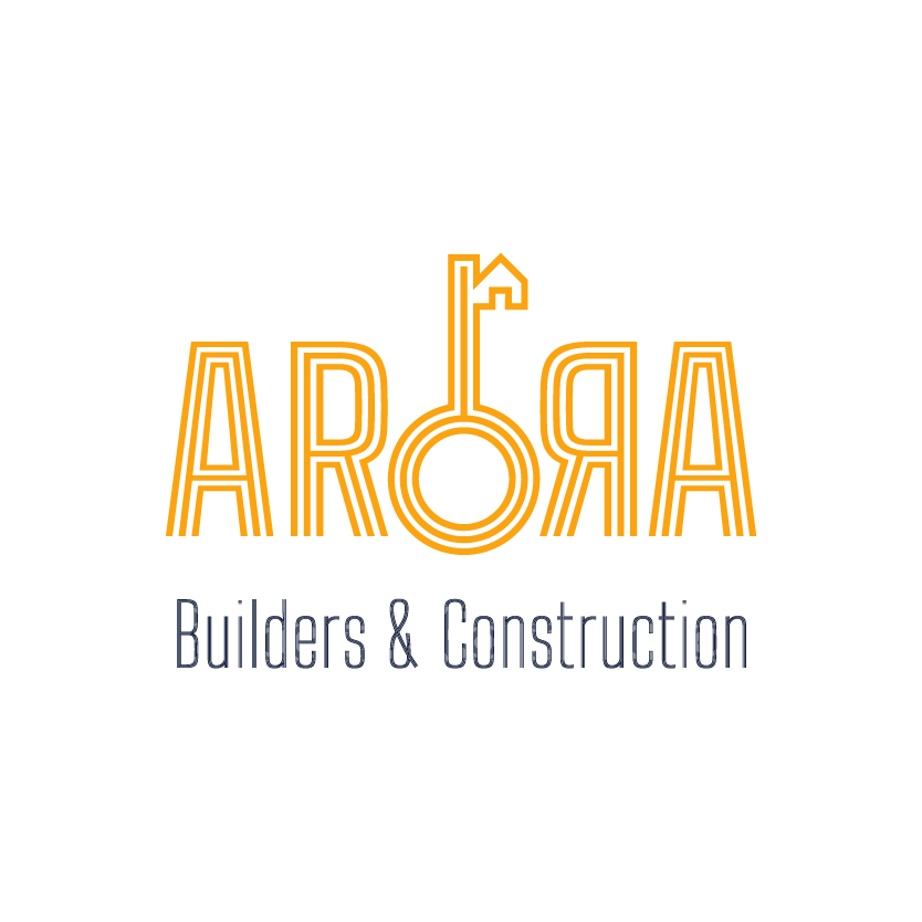 Arora Builders real estate logo by XAXs