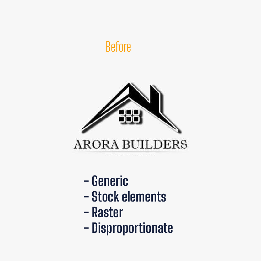 Arora logo before