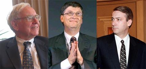 Warren Buffett, Bill Gates, Σπύρος Λάτσης
