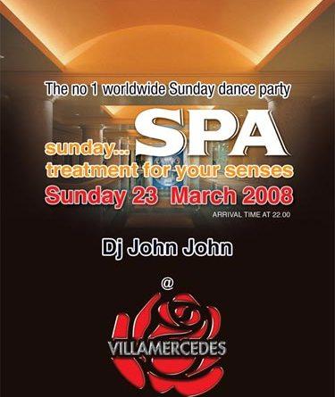 Sunday Spa στο Villa Mercedes