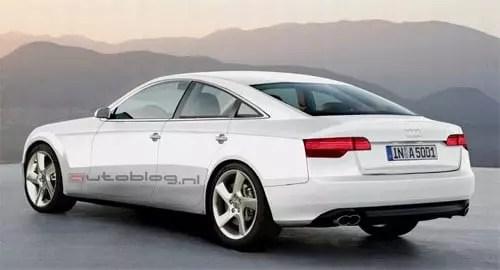 Audi A7 back