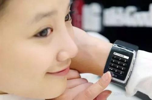 LG GD910 κινητό τηλέφωνο - ρολόι