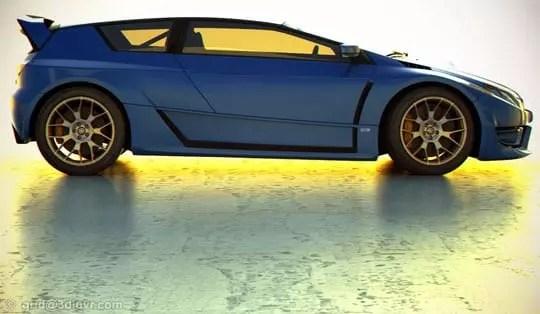 Subaru Impreza STI Concept