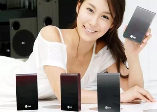 LG XD, εξωτερικός σκληρός δίσκος