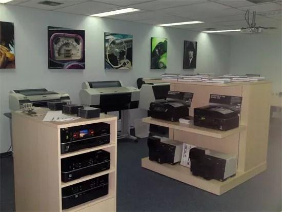 Epson Demo Room