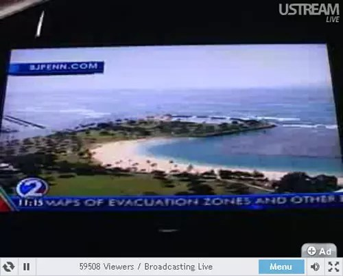 Hawaii Tsunami Warning