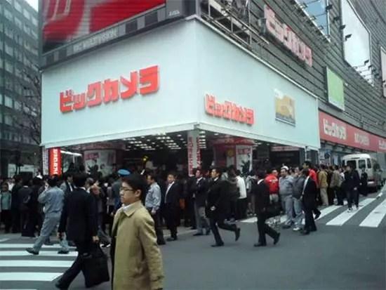 Sony Ericsson XPERIA X10 στην Ιαπωνία