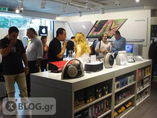 iStorm, Apple Store στο Κολωνάκι