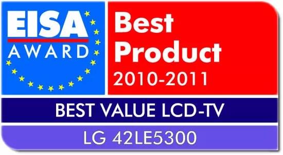 LG EISA Award