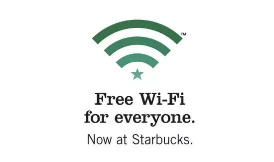Starbucks Δωρεάν Wi-Fi