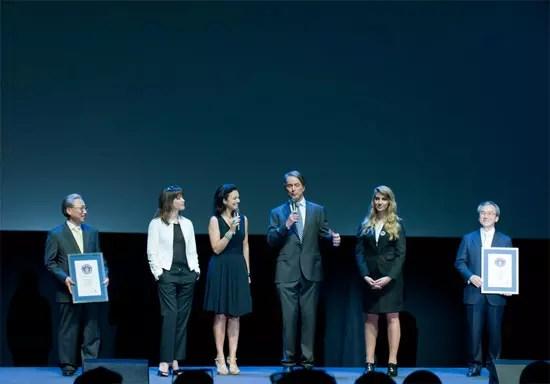 LG Cinema 3D επικύρωση ρεκόρ Guinness