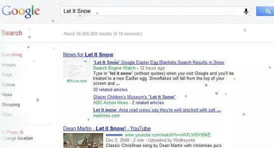 Google Let It Snow