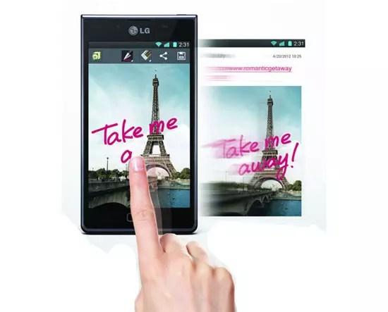 LG Optimus UI 3.0 με εξελιγμένα χαρακτηριστικά και λειτουργίες