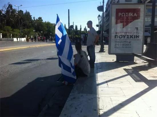 Διαδήλωση στο Σύνταγμα 26/9/2012