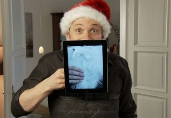 Χριστουγεννιάτικα κόλπα με το iPad