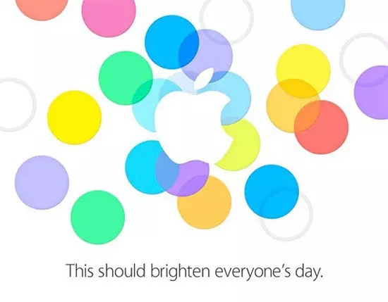Πρόσκληση παρουσίασης iPhone 5S
