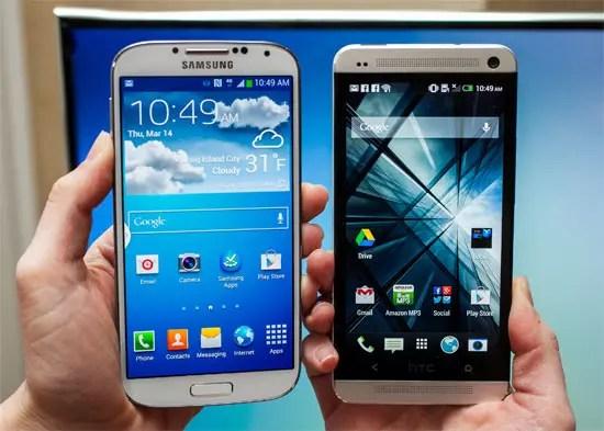 Αναγνώριση προσώπου σε HTC One και Samsung Galaxy S4