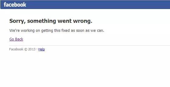 Έπεσε το Facebook