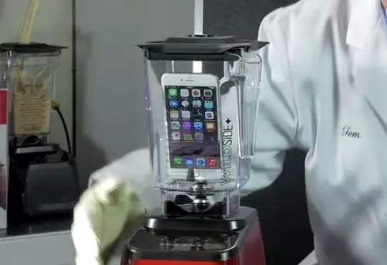 iPhone 6 Plus στο μπλέντερ