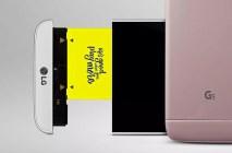 LG G5 battery slot