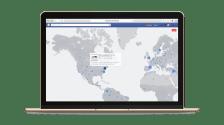 Facebook Live Map