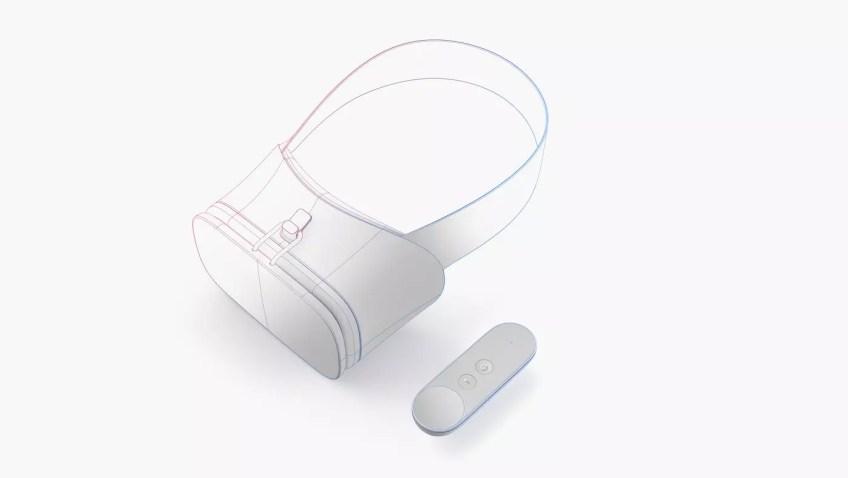 Google Daydream headest controller