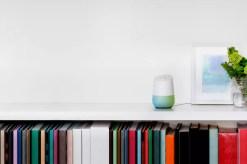 Google Home bookshelf