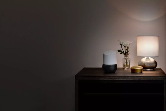 Google Home nightstand