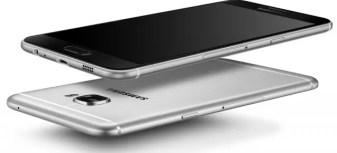 Samsung Galaxy C5 gray
