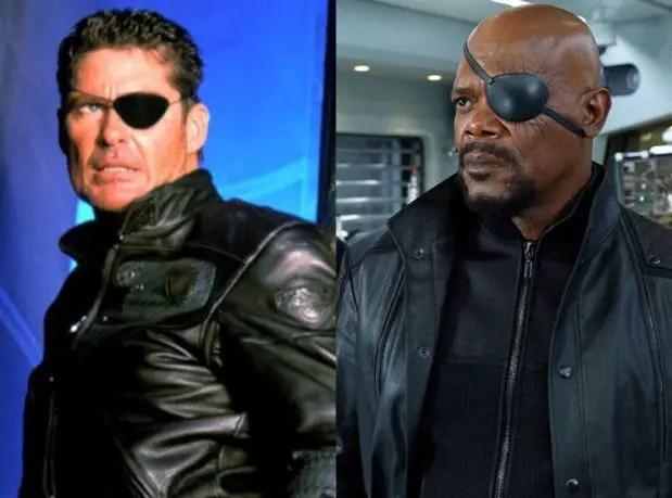 Nick Fury 1998 and 2012
