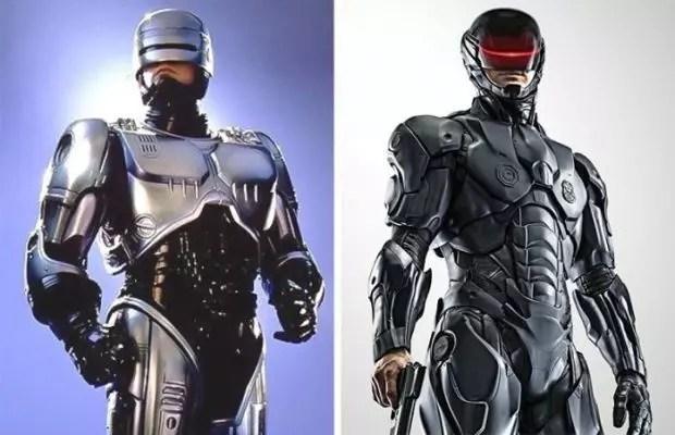 Robocop 1987 and 2014