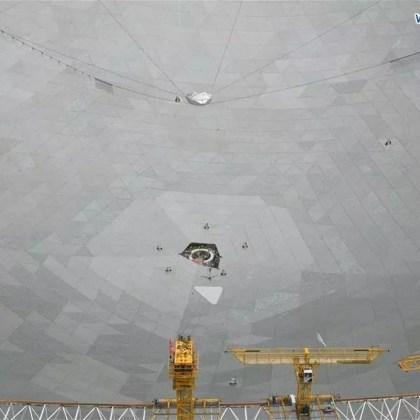 Ραδιοτηλεσκόπιο FAST Κίνας (2)