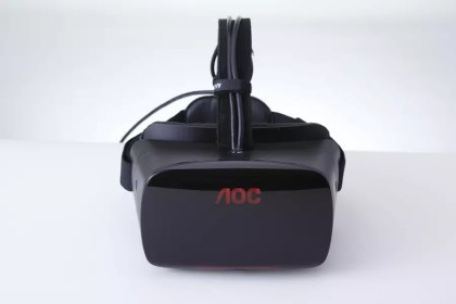 AOC VR top oblique