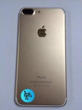 Apple iPhone 7 Plus gold leak