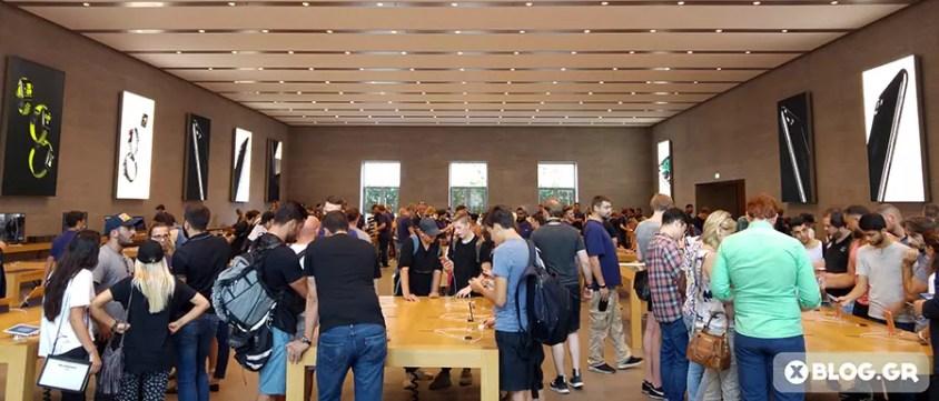 Το Apple Kurfürstendamm, το κατάστημα της Apple στο Βερολίνο.