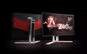 Η AOC παρουσιάζει την AGON, την πιο γρήγορη gaming οθόνη…