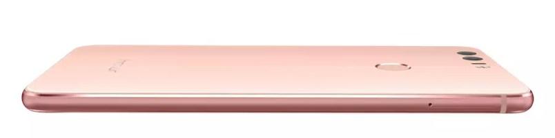 Huawei Honor 8 Pink back
