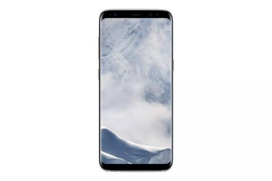 Samsung Galaxy S8 SM G950F Front Silver