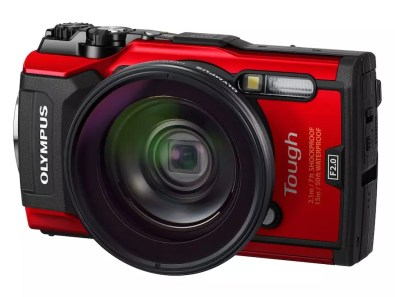 Olympus Tough TG 5 red