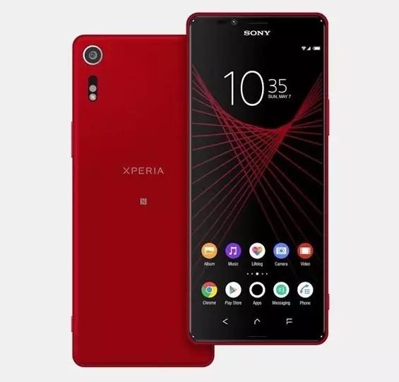 Sony Xperia X Ultra 2017 red leak