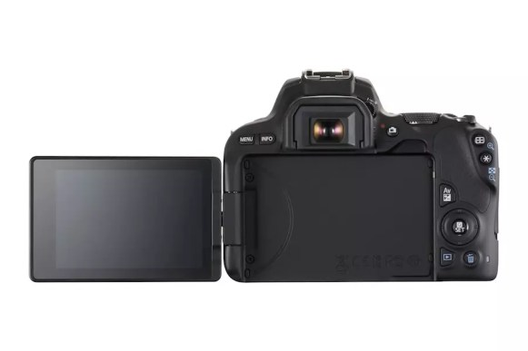 Canon EOS 200D display