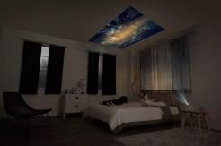 LG MiniBeam Projector bedroom
