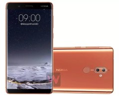Nokia 9 render by Waqar Khan