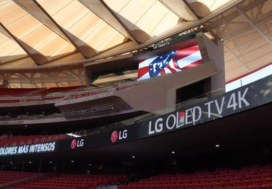 LG Signage Technology for Atletico de Madrid 3