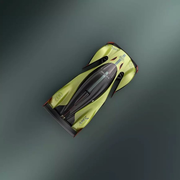 Aston Martin Valkyrie AMR Pro (5)