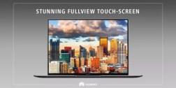 Huawei MateBook X Pro FullView screen