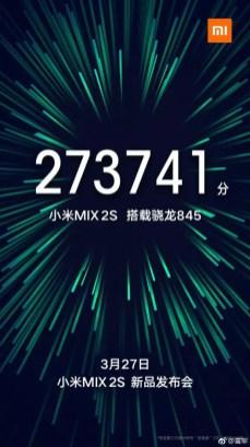 Xiaomi Mi MIX 2S invite