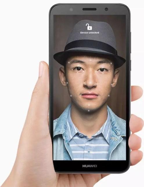 Huawei Y5 Prime 2018 faceunlock